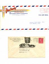 Buy Dog-Related - 6 Letterheads - 5 Envelopes-1920s-1950s