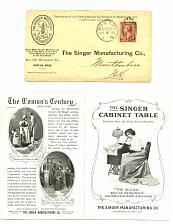 Buy Sewing - Related - Singer 1901 Pan-Amercan Fold-Out