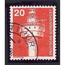 Buy German Used Scott #1172 Catalog Value $.25