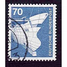 Buy German Used Scott #1177 Catalog Value $.25