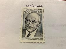 Buy France Famous Robert Schuman politician 1975 mnh
