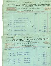 Buy Eastman Kodak Co - 23 Invoices All With Same Headings