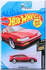Buy Hot Wheels - '88 Honda CR-X: Nightburnerz #3/10 - #49/250 (2019) *Red Edition*