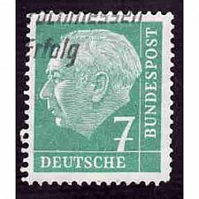 Buy German Used Scott #706 Catalog Value $.30