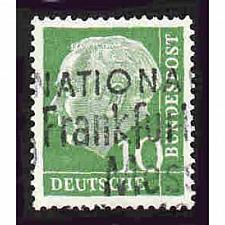 Buy German Used Scott #708 Catalog Value $.25