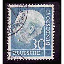 Buy German Used Scott #712 Catalog Value $4.50