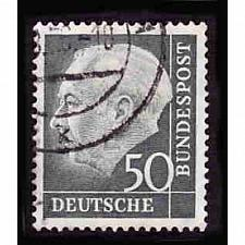 Buy German Used Scott #714 Catalog Value $.45