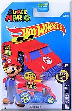 Buy Hot Wheels - Cool-One: HW Screen Time #4/5 - #224/250 (2016) *Red / Super Mario*