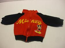 Buy Mickey Mouse Red Long Sleeve Jacket Baby 3-6 Months Cotton Blend