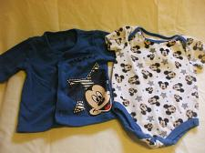 Buy Disney Baby Mickey Mouse Blue Top and Romper Set 3-6 Months 2 Pc100% cotton