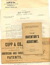 Buy Patents Fom 1870s-1910s -27 Items - See Scans