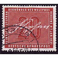 Buy German Used Scott #738 Catalog Value $2.40