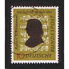 Buy German Used Scott #743 Catalog Value $.45