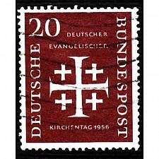 Buy German Used Scott #745 Catalog Value $4.75