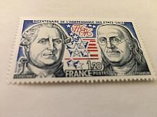 Buy France U.S. bi-centenary mnh 1976