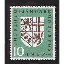 Buy German Hinged Scott #754 Catalog Value $.50
