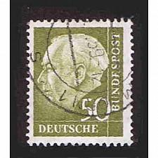 Buy German Used Scott #757 Catalog Value $.30
