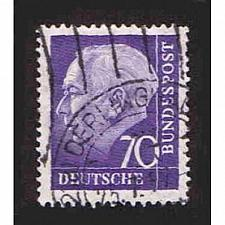 Buy German Used Scott #759 Catalog Value $.45