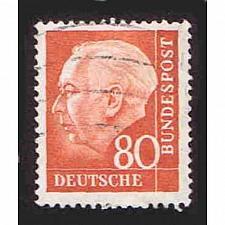 Buy German Used Scott #760 Catalog Value $1.90