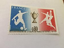 Buy France French football cup 1977 mnh