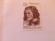 Buy France Famous G. de Machault poet 1977 mnh