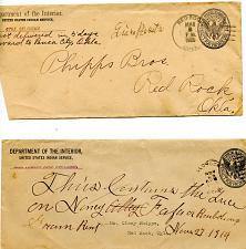 Buy Phipps Family Documents - Oklahoma -Early 1900s