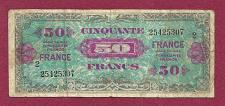 Buy FRANCE 50 Francs 1944 Banknote #25425307 HISTORIC WWII Allied Military Currency!