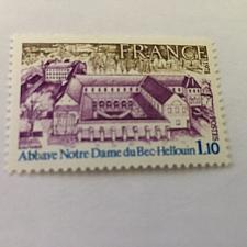 Buy France Bec-Hellouin abbey 1978 mnh