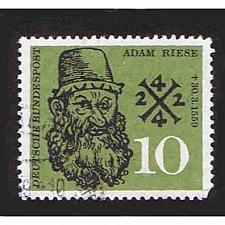 Buy German Used Scott #799 Catalog Value $.45