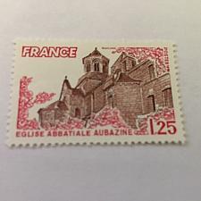 Buy France Aubazine church 1978 mnh