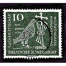 Buy German Used Scott #811 Catalog Value $.45