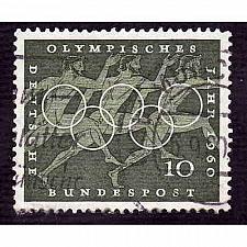 Buy German Used Scott #814 Catalog Value $.25