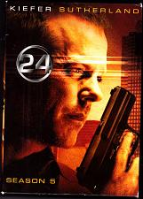 Buy 24 - Season 5 DVD 2009, 7-Disc Set - Very Good