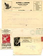 Buy - Razors - Barbers - Cutlery - 1900s - 1960