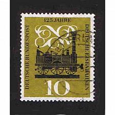Buy German Used Scott #822 Catalog Value $.40