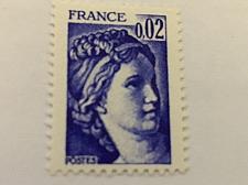 Buy France Definitive Sabine 0.02 mnh 1978