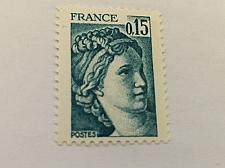 Buy France Definitive Sabine 0.15 mnh 1978