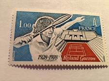 Buy France Tennis stadium mnh 1978
