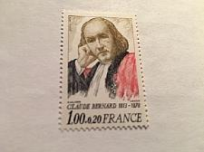 Buy France Famous Claude Bernard Historian mnh 1978