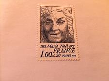 Buy France Famous Marie Noel poet mnh 1978