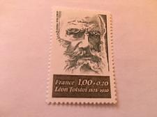 Buy France Famous Leon Tolstoi writer mnh 1978