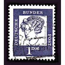 Buy German Used Scott #838 Catalog Value $.25
