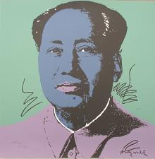 Buy Andy Warhol lithograph Mao Zedong signed numbered print
