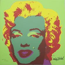Buy Andy Warhol Marilyn Monroe signed limited edition lithograph