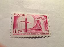Buy France Jeanne dArc memorial 1979 mnh