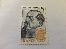 Buy France Famous L. Jouhaux union leader 1979 mnh