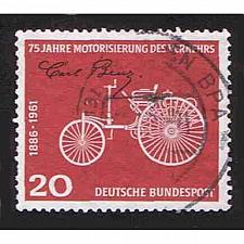 Buy German Used Scott #841 Catalog Value $.30
