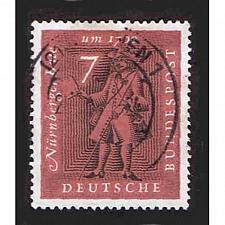 Buy German Used Scott #842 Catalog Value $.30