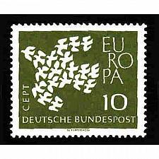 Buy German MNH Scott #844 Catalog Value $.25