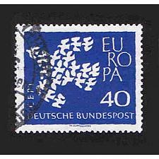Buy German Used Scott #845 Catalog Value $.50